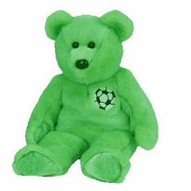 Ty Beanie Buddy Kicks the Soccer Bear