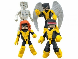 Marvel Minimates Mini Figure 4-Pack X-Men First Class [Iceman, Jean Grey, Angel & Cyclops]