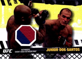 UFC Topps Ultimate Fighting Championship 2010 Championship Single Card Fight Mat Relic FM-JDS Junior dos Santons