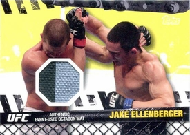 UFC Topps Ultimate Fighting Championship 2010 Championship Single Card Fight Mat Relic FM-JE Jake Ellenberger