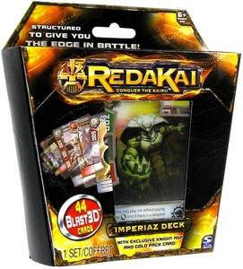 Redakai Card Game Imperiaz Structure Deck [44 Cards]