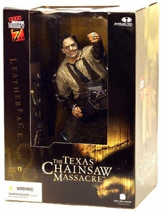McFarlane Toys Movie Maniacs 12 Inch Deluxe Action Figure Leatherface [Texas Chainsaw Massacre]