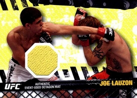 UFC Topps Ultimate Fighting Championship 2010 Championship Single Card Fight Mat Relic FM-JL Joe Lauzon