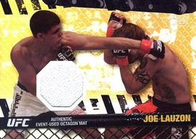 UFC Topps Ultimate Fighting Championship 2010 Championship Single Card Gold Fight Mat Relic FM-JL Joe Lauzon 6/188