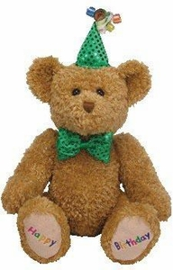 Ty Beanie Buddy Happy Birthday the Bear