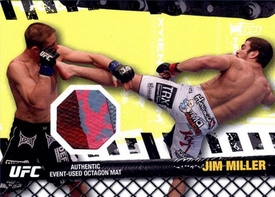 UFC Topps Ultimate Fighting Championship 2010 Championship Single Card Fight Mat Relic FM-JM Jim Miller