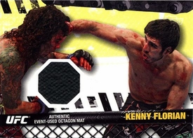 UFC Topps Ultimate Fighting Championship 2010 Championship Single Card Fight Mat Relic FM-KF Kenny Florian