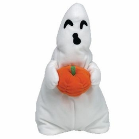 Ty Halloween Beanie Buddy Ghoul the Boy Ghost