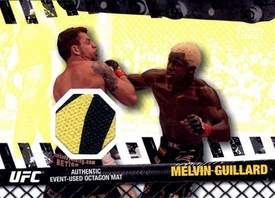 UFC Topps Ultimate Fighting Championship 2010 Championship Single Card Fight Mat Relic FM-MG Melvin Guillard
