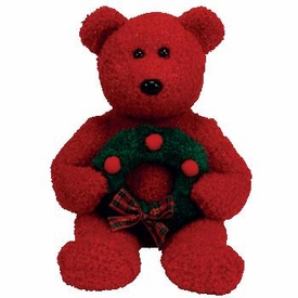 Ty Christmas Beanie Buddy 2006 Holiday Teddy