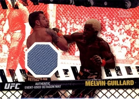 UFC Topps Ultimate Fighting Championship 2010 Championship Single Card Ruby Fight Mat Relic FM-MG Melvin Guillard 7/8