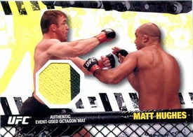 UFC Topps Ultimate Fighting Championship 2010 Championship Single Card Fight Mat Relic FM-MH Matt Hughes