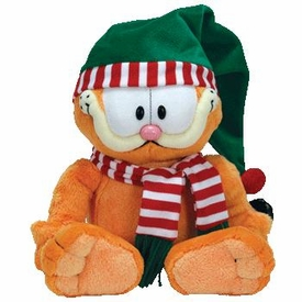 Ty Christmas Garfield Beanie Buddy Seasons Greetings Garfield