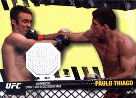 UFC Topps Ultimate Fighting Championship 2010 Championship Single Card Fight Mat Relic FM-PT Paulo Thiago