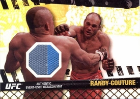 UFC Topps Ultimate Fighting Championship 2010 Championship Single Card Gold Fight Mat Relic FM-RC Randy Couture