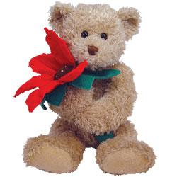 Ty Beanie Buddy 2005 Holiday Teddy
