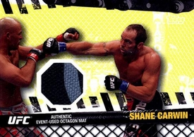 UFC Topps Ultimate Fighting Championship 2010 Championship Single Card Fight Mat Relic FM-SC Shane Carwin