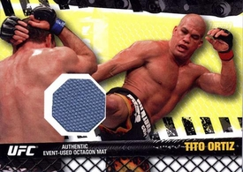 UFC Topps Ultimate Fighting Championship 2010 Championship Single Card Fight Mat Relic FM-TO Tito Ortiz