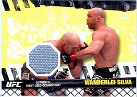 UFC Topps Ultimate Fighting Championship 2010 Championship Single Card Fight Mat Relic FM-WS Wanderlei Silva