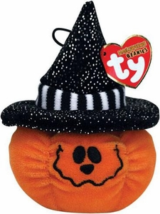Ty Halloween Beanie Baby Treats The Pumpkin