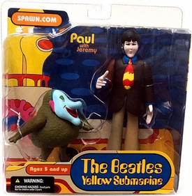 McFarlane Toys Beatles Yellow Submarine Action Figure Paul with Jeremy