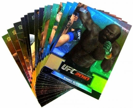 UFC Topps Ultimate Fighting Championship 2010 Championship 15-Card Greats of the Game Insert Set