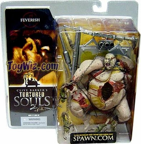 McFarlane Toys Clive Barker's Tortured Souls 2 The Fallen Action Figure Feverish