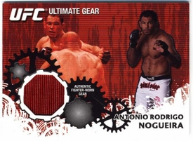 UFC Topps Ultimate Fighting Championship 2010 Championship Single Card Ultimate Gear Relic UG-AN Antonio Rodrigo Nogueira