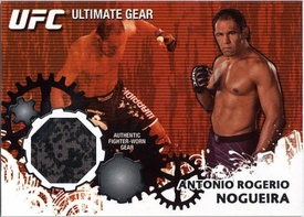 UFC Topps Ultimate Fighting Championship 2010 Championship Single Card Ultimate Gear Relic UG-ARN Antonio Rogerio Nogeira