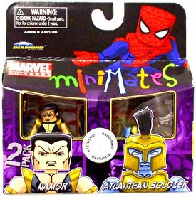 Marvel MiniMates Exclusive Mini Figure 2-Pack Namor & Atlantean Soldier