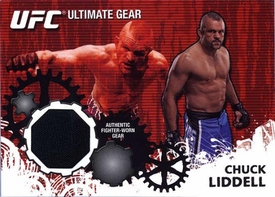 UFC Topps Ultimate Fighting Championship 2010 Championship Single Card Ultimate Gear Relic UG-CL Chuck Liddell