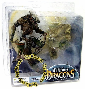 McFarlane Toys Dragons Series 3 Action Figure Komodo Clan Dragon 3 BLOWOUT SALE!
