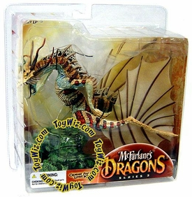 McFarlane Toys Dragons Series 3 Action Figure Water Clan Dragon 3 BLOWOUT SALE!