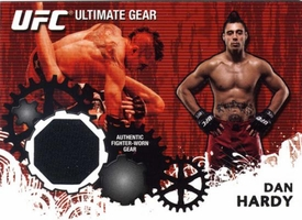 UFC Topps Ultimate Fighting Championship 2010 Championship Single Card Ultimate Gear Relic UG-DH Dan Hardy