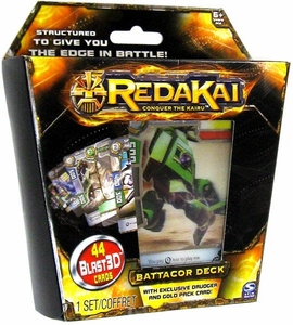 Redakai Card Game Battacor Structure Deck [44 Cards]