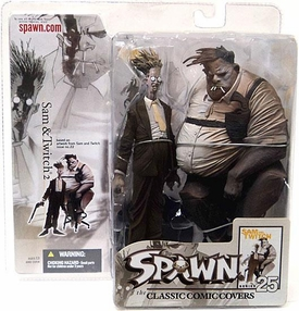 Spawn Classic Covers Series 25 Action Figure Sam & Twitch 2