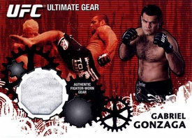 UFC Topps Ultimate Fighting Championship 2010 Championship Single Card Ultimate Gear Relic UG-GG Gabriel Gonzaga