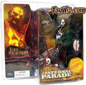 McFarlane Toys Infernal Parade Action Figure Tom Requiem the Ringmaster