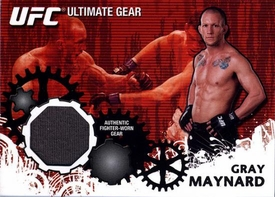 UFC Topps Ultimate Fighting Championship 2010 Championship Single Card Ultimate Gear Relic UG-GM Gray Maynard