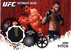UFC Topps Ultimate Fighting Championship 2010 Championship Single Card Ultimate Gear Relic UG-JF Jon Fitch