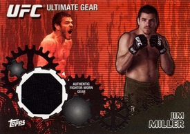 UFC Topps Ultimate Fighting Championship 2010 Championship Single Card Onyx Ultimate Gear Relic UG-JM Jim Miller 71/88
