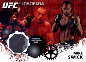 UFC Topps Ultimate Fighting Championship 2010 Championship Single Card Ultimate Gear Relic UG-TD Mike Swick