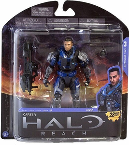 Halo Reach McFarlane Toys Series 5 Action Figure Carter [Unhelmeted]