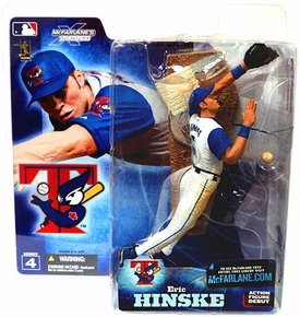 McFarlane Toys MLB Sports Picks Series 4 Action Figure Eric Hinske (Toronto Blue Jays) White Jersey Variant