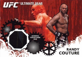 UFC Topps Ultimate Fighting Championship 2010 Championship Single Card Ultimate Gear Relic UG-RC Randy Couture