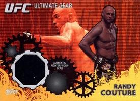 UFC Topps Ultimate Fighting Championship 2010 Championship Single Card Gold Ultimate Gear Relic UG-RC Randy Couture
