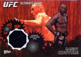 UFC Topps Ultimate Fighting Championship 2010 Championship Single Card Onyx Ultimate Gear Relic UG-RC Randy Couture 40/88