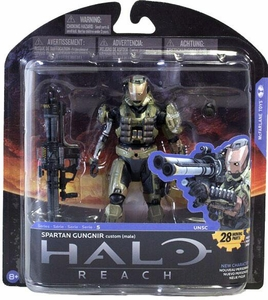 Halo Reach McFarlane Toys Series 5 Action Figure Spartan Gungnir Custom {Male}