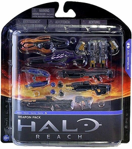 Halo Reach McFarlane Toys Series 5 Action Figure Weapons Pack