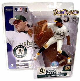 McFarlane Toys MLB Sports Picks Series 7 Action Figure Barry Zito (Oakland Athletics) White Jersey